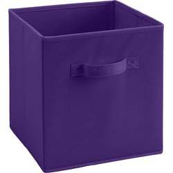 Ameriwood Fabric Storage Bin in  Purple
