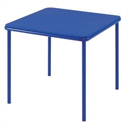 Cosco Square Kids Vinyl Table in Blue