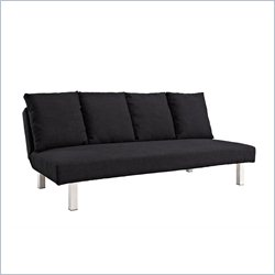 DHP Casey Deep Seat Futon in Black