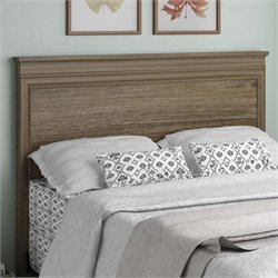Altra Hanover Creek Wood Full Queen Panel Headboard in Weathered Pecan
