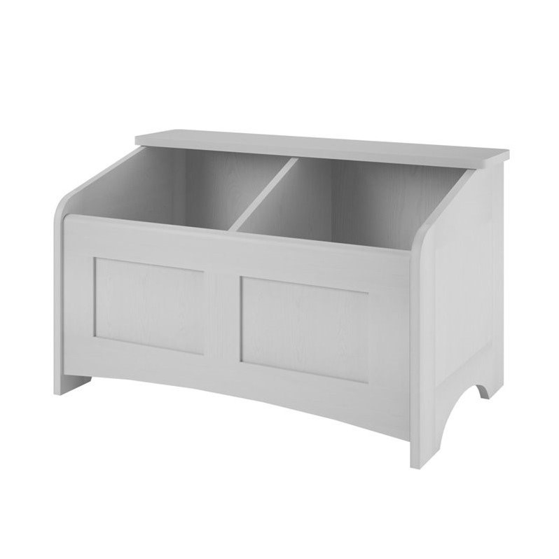 Wood Toy Chest In Federal White 5829306pcom
