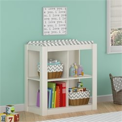 Ameriwood Cosco Riley Changing Table in White