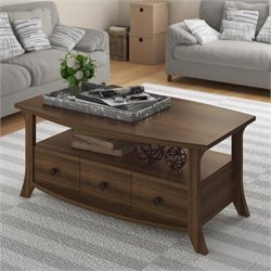 Ameriwood Oakridge Coffee Table in Homestead Oak