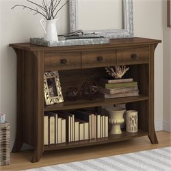 Ameriwood Oakridge Console Table in Homestead Oak