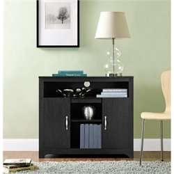Ameriwood Woodland Storage Cabinet in Espresso Finish