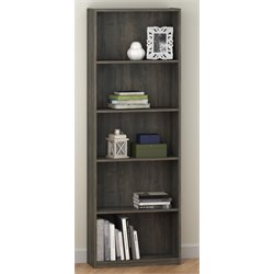 Altra Core 5-Shelf Bookcase in Rodeo Oak