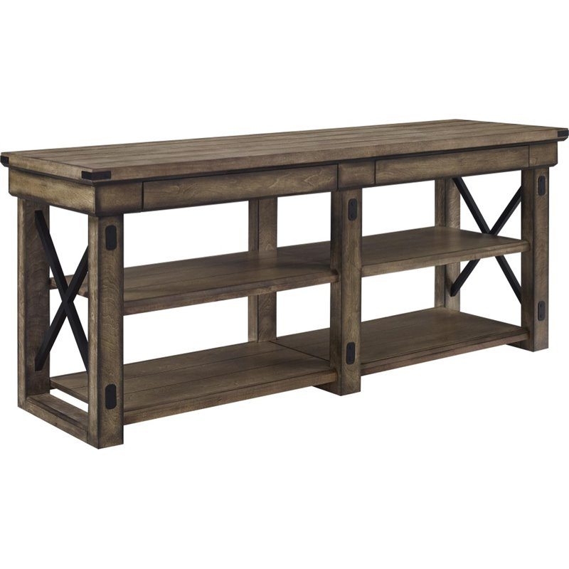 Altra Wildwood 65 Quot Tv Stand In Rustic Gray 1768096pcom