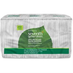 Seventh Gen. Recycled One-ply Paper Napkins (Set of 3000)