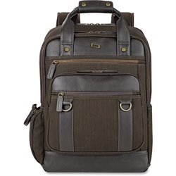 US Luggage Solo Bradford Brown Backpack