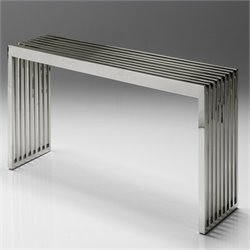 Mobital Axel Bench in Stainless Steel