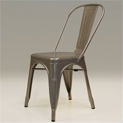 Mobital Metallica Dining Chair in Grey