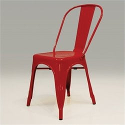 Mobital Metallica Dining Chair in Red