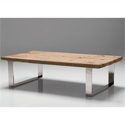 Mobital Provence Coffee Table in Polished Steel
