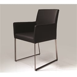 Mobital Tate Dining Armchair in Black