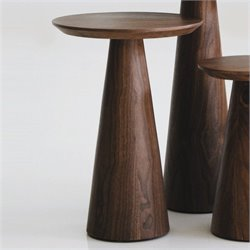 Mobital Tower Medium End Table in Walnut