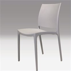 Mobital Vata Dining Chair in Light Grey
