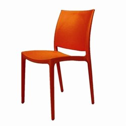 Mobital Vata Dining Chair in Orange