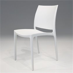 Mobital Vata Dining Chair in White