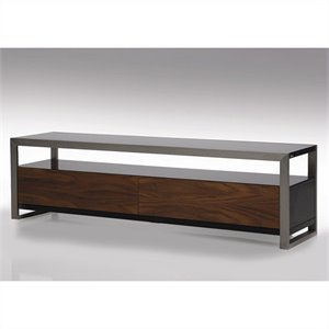 Mobital Brando TV Stand in Walnut and Black