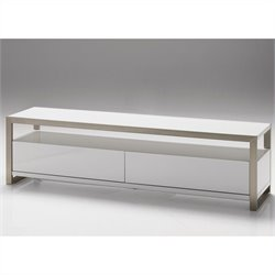 Mobital Brando TV Stand in White - 39 Inch