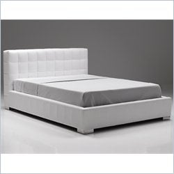Mobital Spectra Storage Bed in White - Queen