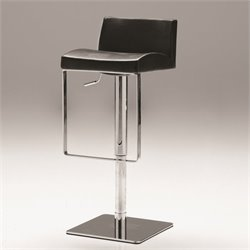 Mobital Astro Adjustable Bar Stool in Black
