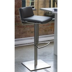 Mobital Bond Adjustable Bar Stool in Gray
