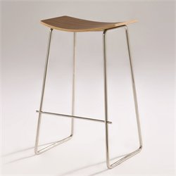 Mobital Ibiza Bar Stool in Walnut