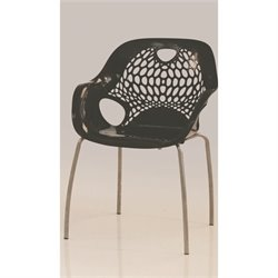 Mobital Nero Outdoor Dining Chair in Black