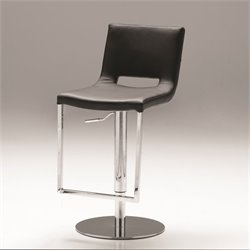 Mobital Ozar Adjustable Bar Stool in Black