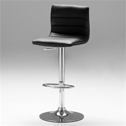 Mobital Pero Adjustable Bar Stool in Black