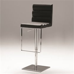Mobital Vola Adjustable Bar Stool in Black
