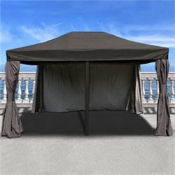 International Home Atlantic Patio 12 Ft x 16 Ft Aluminum Gazebo