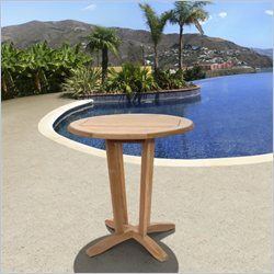 International Home Miami Corp Nile Round Table in Teak