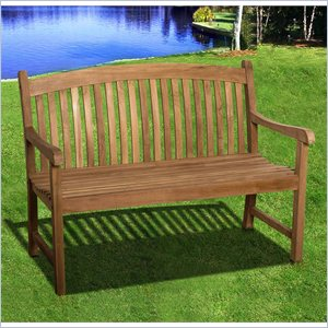International Home Miami Amazonia Teak Newcastle Outdoor Bench