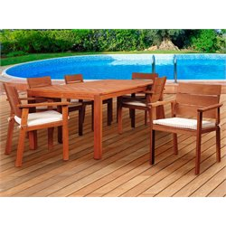 International Home Amazonia 7 Piece Patio Dining Set