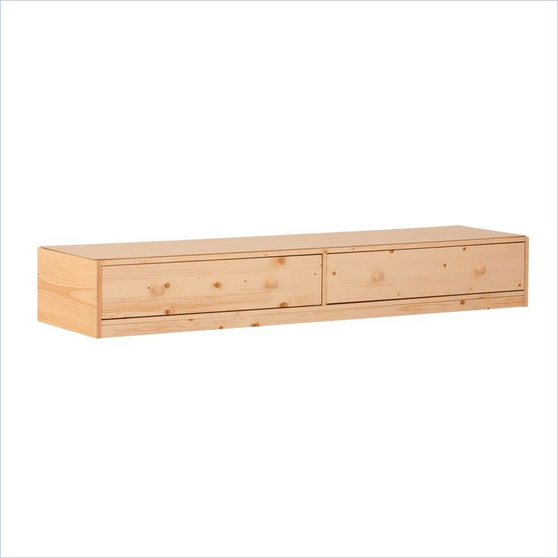 Drawers for Bunk Beds (Low) in Natural