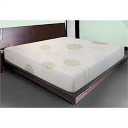 Comfort Magic 10 Inch Total Relief Memory Foam Mattress