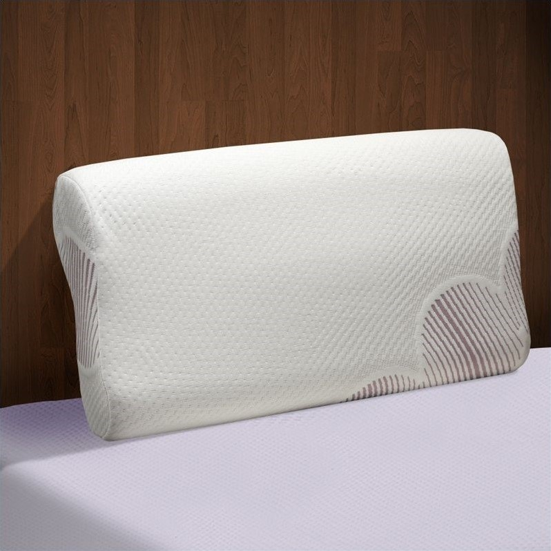 Comfort Magic Head and Neck Support Contour Foam Pillow