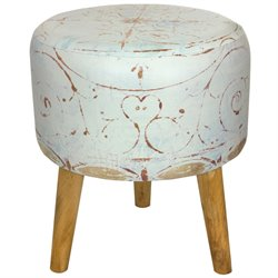 Oriental Furniture Winter Peace Stool