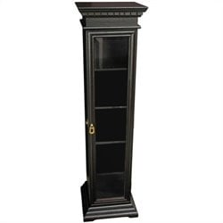 Oriental Furniture Rosewood CD Display Cabinet in Kiln-dried Elmwood