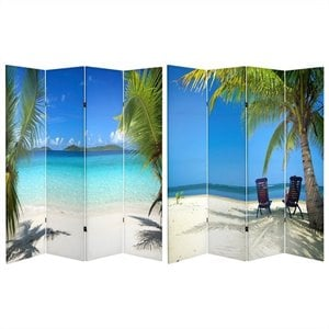 Oriental Double Sided Ocean Room Divider
