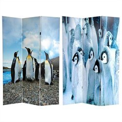 Oriental Penguin Double Sided Room Divider