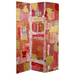 Oriental Avant-garde Collage Room Divider