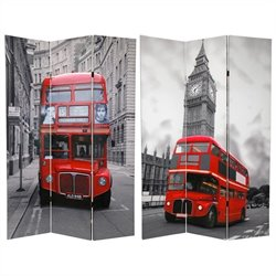 Oriental Double Decker Bus Room Divider