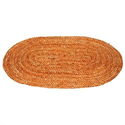 Oriental Furniture Woven Rug in Honey