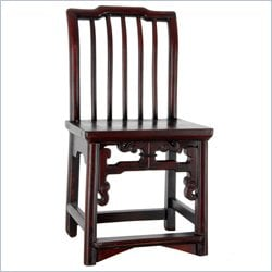 Oriental Furniture Antique Chair in Rosewood