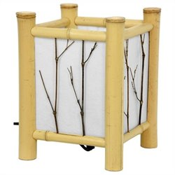 Oriental Furniture Watashi Table Lamp in Natural