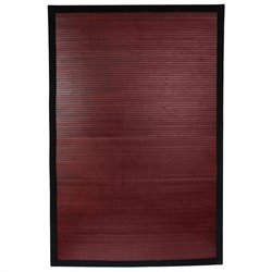 Oriental Furniture Rug in Mahogany - 2 x 3 feet