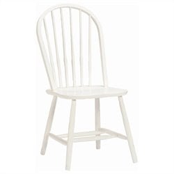 Bolton Furniture Woodridge Bow Back Kids Chair in White Finish